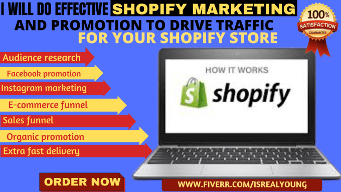 i will design a shopify store and do effecitve marketing for your store to drive traffic and to boos