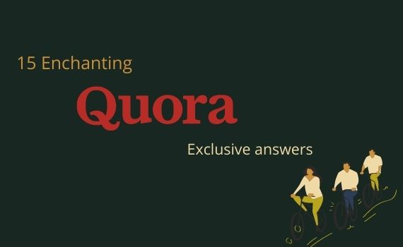 15 Enchanting Quora answers with Targeted traffic