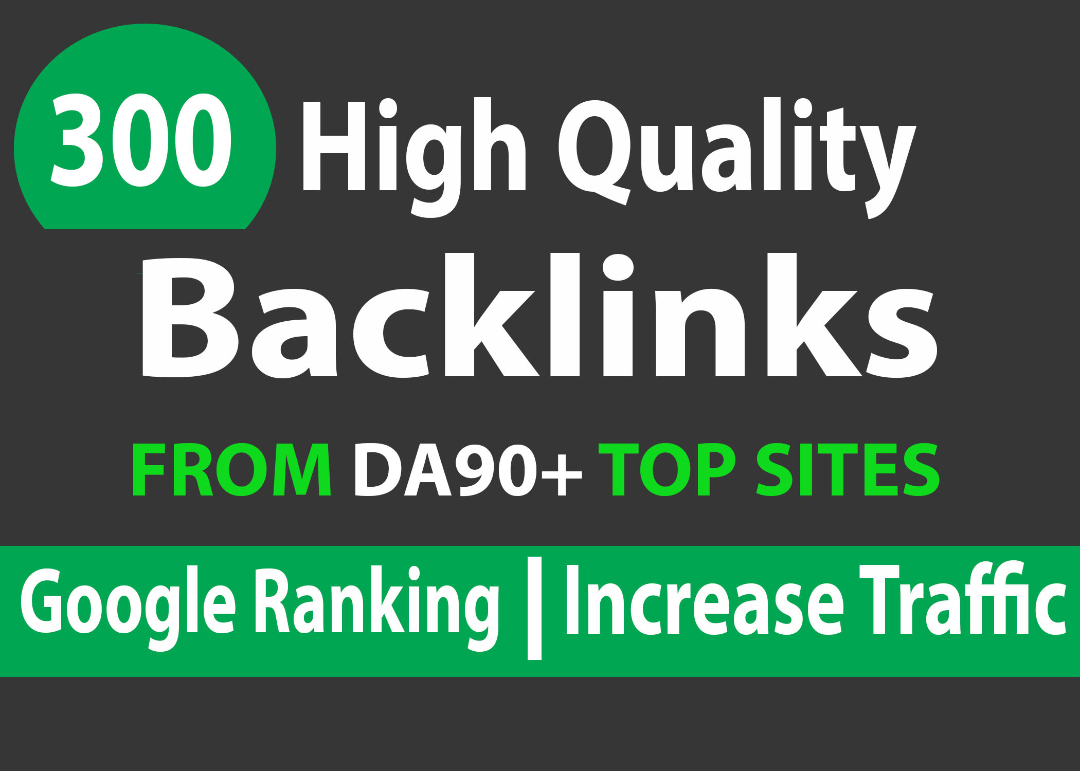 provide 300 high da backlinks link building