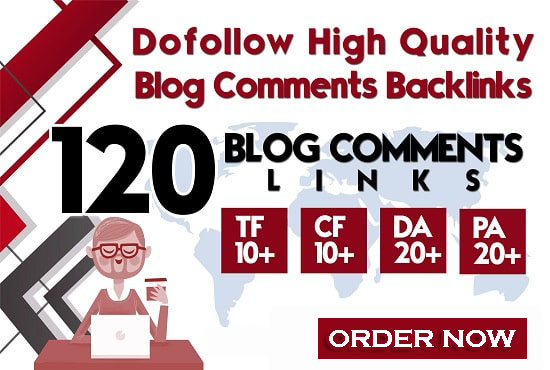 do 120 prime quality dofollow blog comments