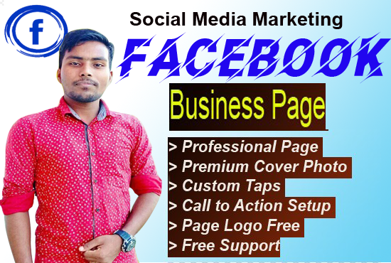 I will do facebook business page create and full setup