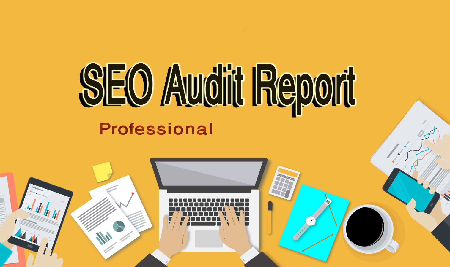 I will do professional SEO audit report