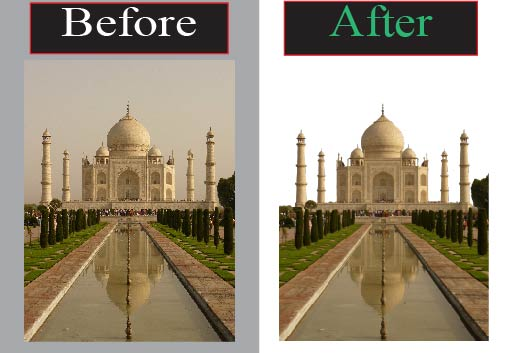 I will professionally edit,  remove and retouch your image background.