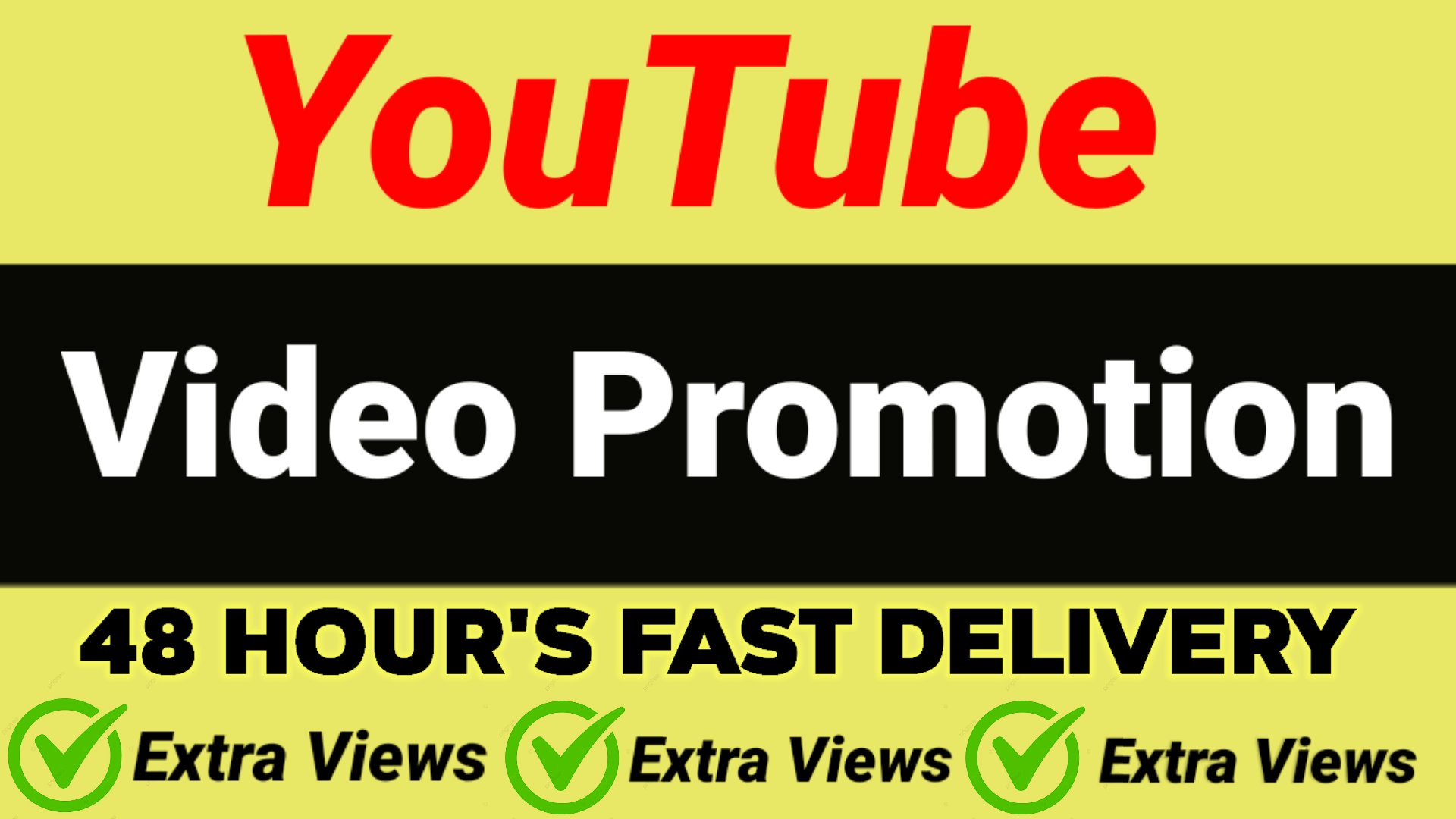 YouTube video promotion 48 hours fast delivery