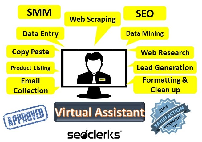 I will be your Personal and Administrative Virtual Assistant and do any kind of job.