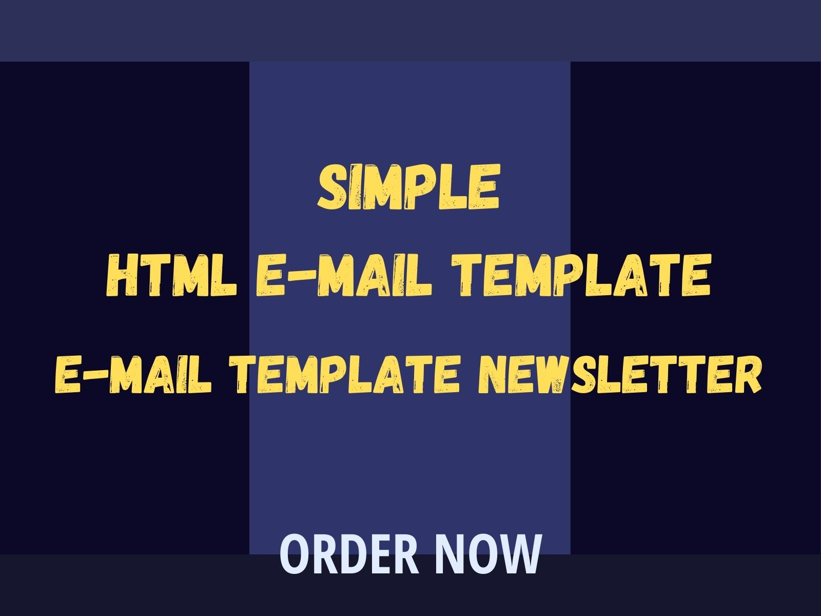 I Will Design HTML E-mail Template Newsletter For Any Country