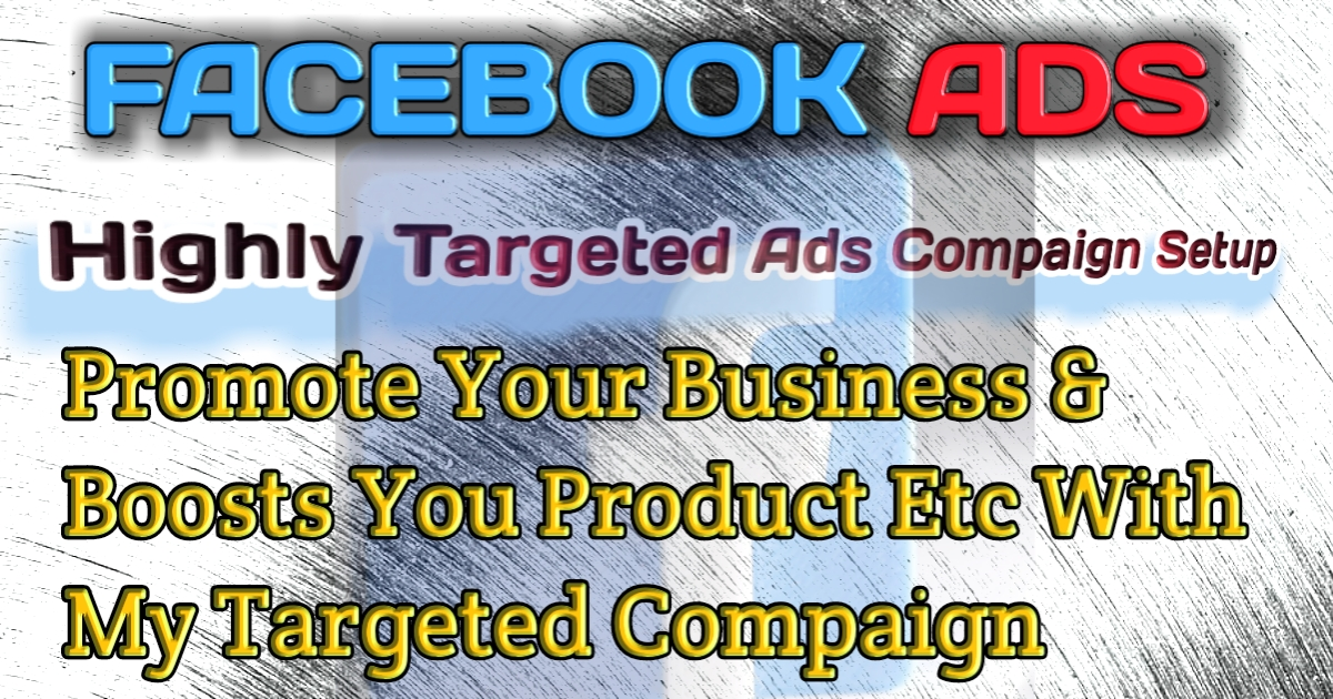 I will create and manage facebook ads campaign for your business