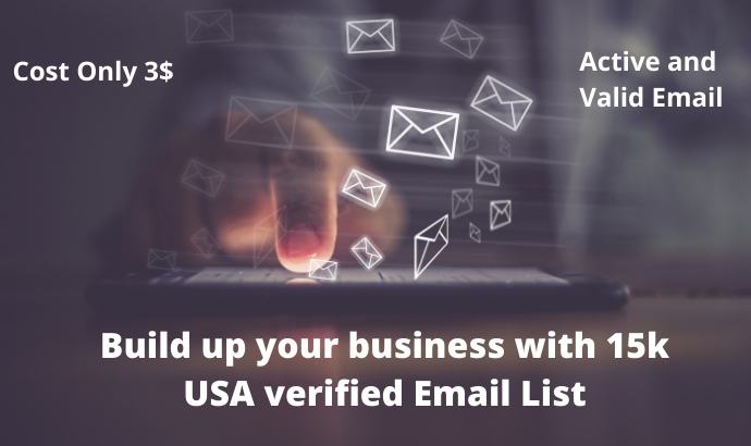 Build up your business with 20k USA verified Email List