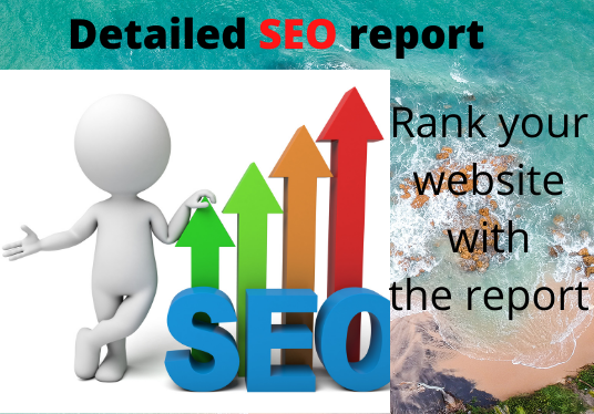 I will provide you complete SEO report to rank your site within 24 hours