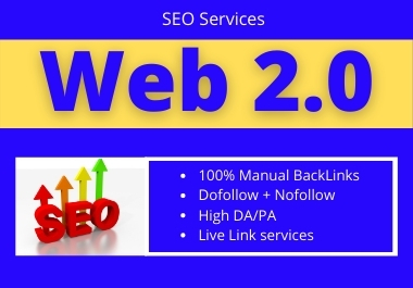 I will create 50+ Backlinks on high authority sites