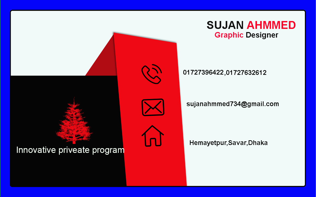 business card professional design 24 hours