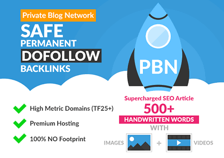 bulid unique 50 high da pa tf cf homepage pbn backlinks