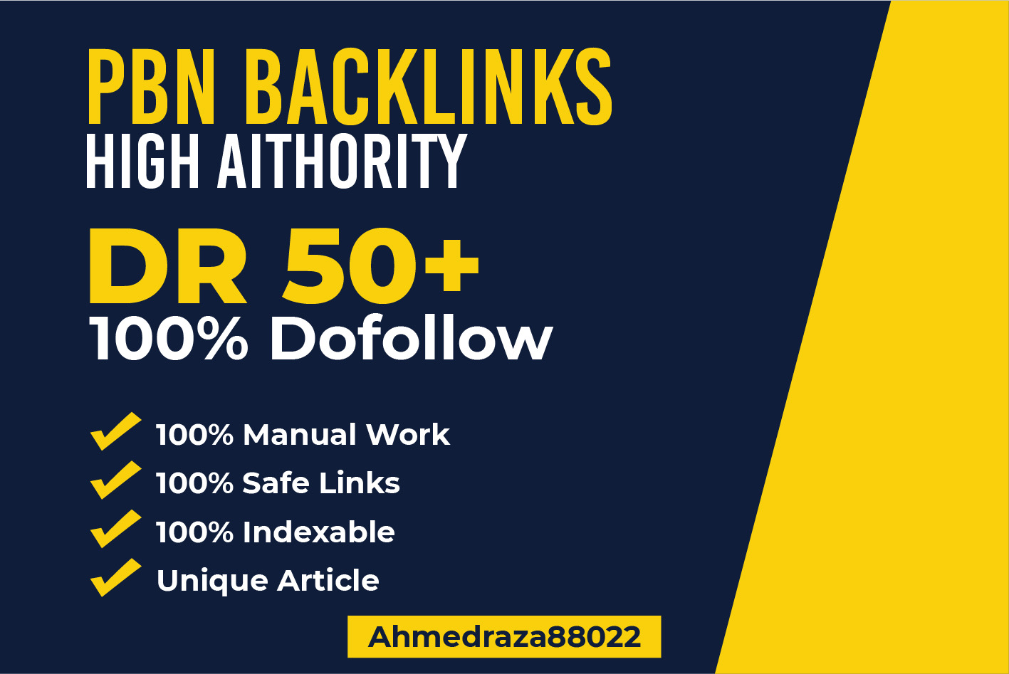 Build 20 High dr50 plus Homepage PBN Dofollow Backlinks