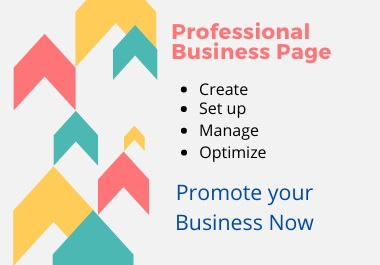 I will create & set up impressive Facebook business page