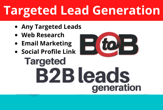 I will do 50 targeted company base linkedin lead generation