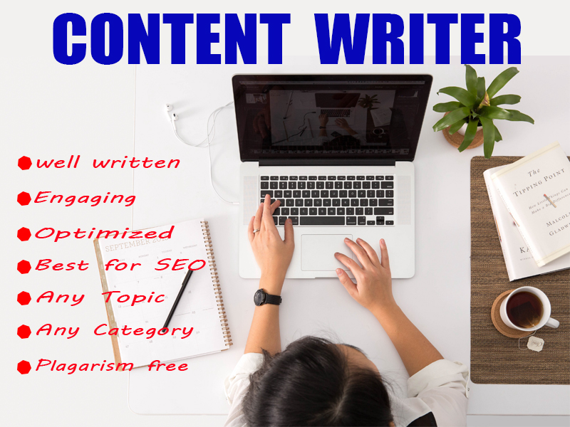 I will write SEO Optimize articles,  blog posts and business content