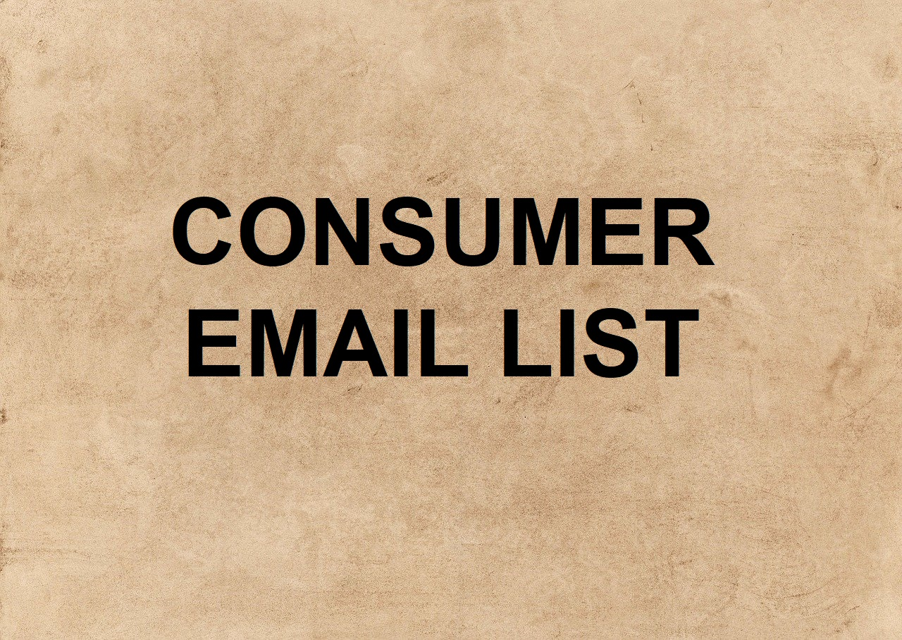 Consumer email list for usa any niches