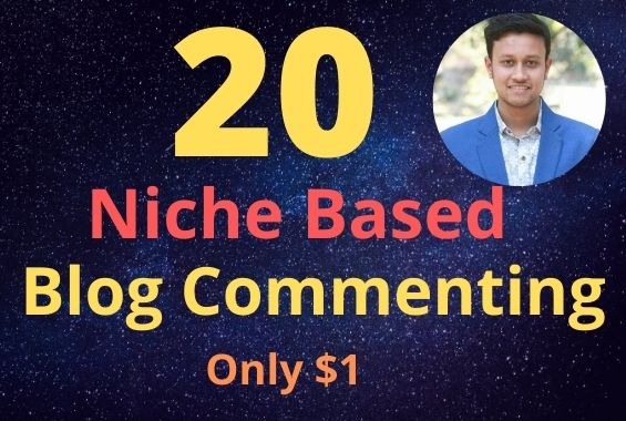 I will do niche based blog commenting