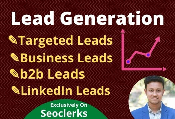 I will collect 100 targeted leads to grow your business