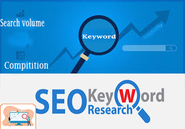 I will do Organic SEO keyword research,  top competitor analysis and suggestions