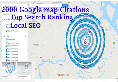 I will make 2000 Google Map Citations Manually Path Directory with Local SEO
