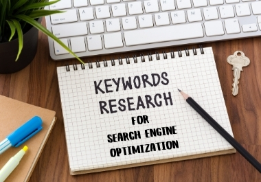 I will research targeted keyword for Search Engine optimization