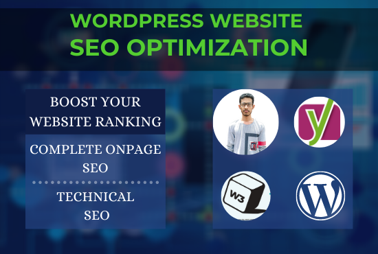 I will optimize your WordPress website on-page SEO with Yoast