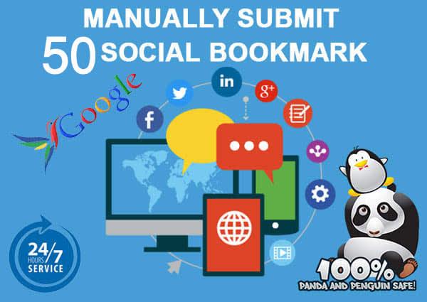 I Will create 50 Social bookmak
