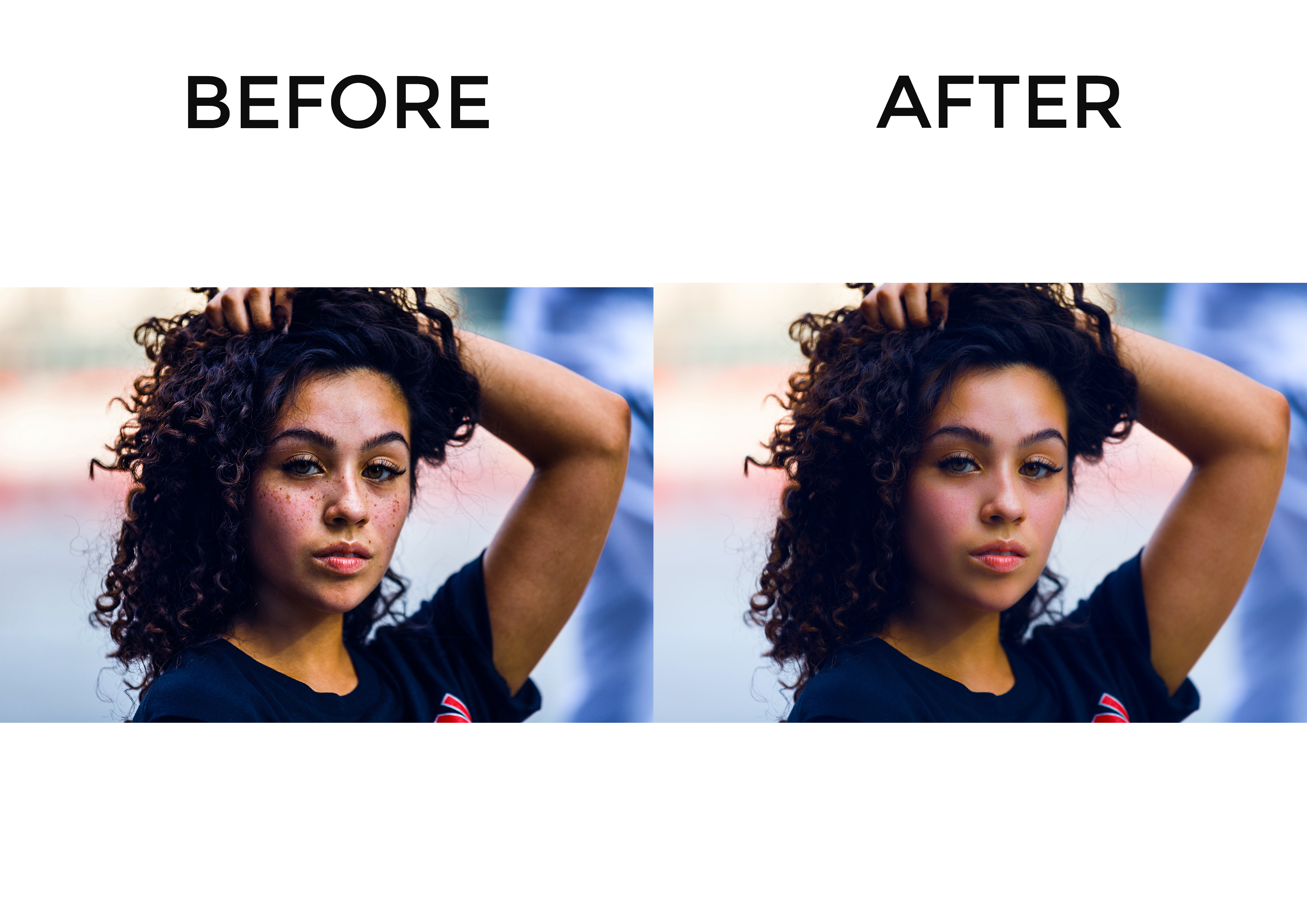 I will image retouching and Photoshop editing within a day