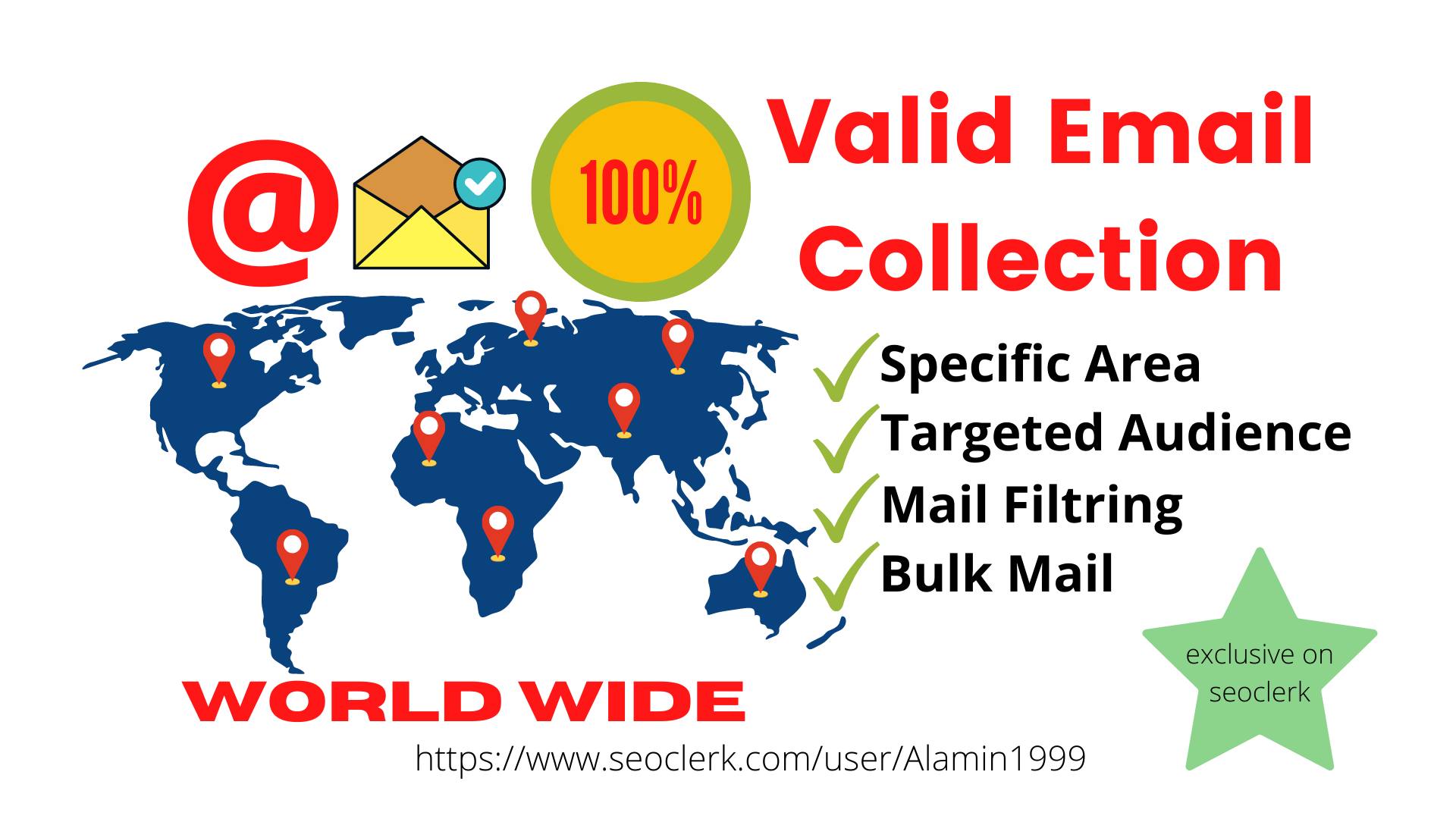 I will collect 1000+ niche targeted email list any location