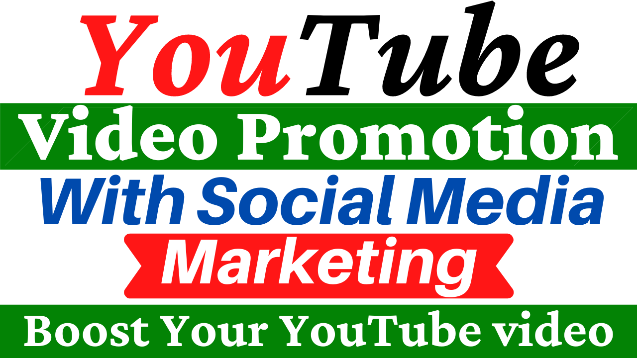 YouTube Video Promotion and Social Media Marketing All In One Service Boost Your Video Ranking