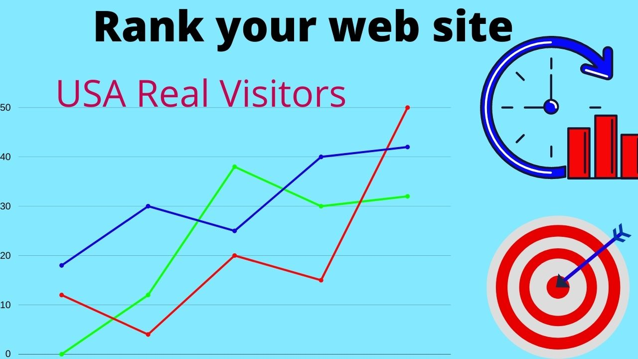 i will drive 10000 real USA web traffic for your web site