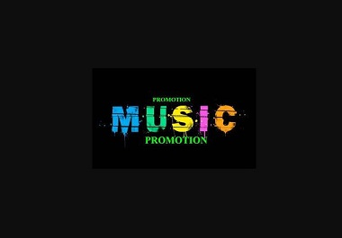 I will do organic music promotion to target audience