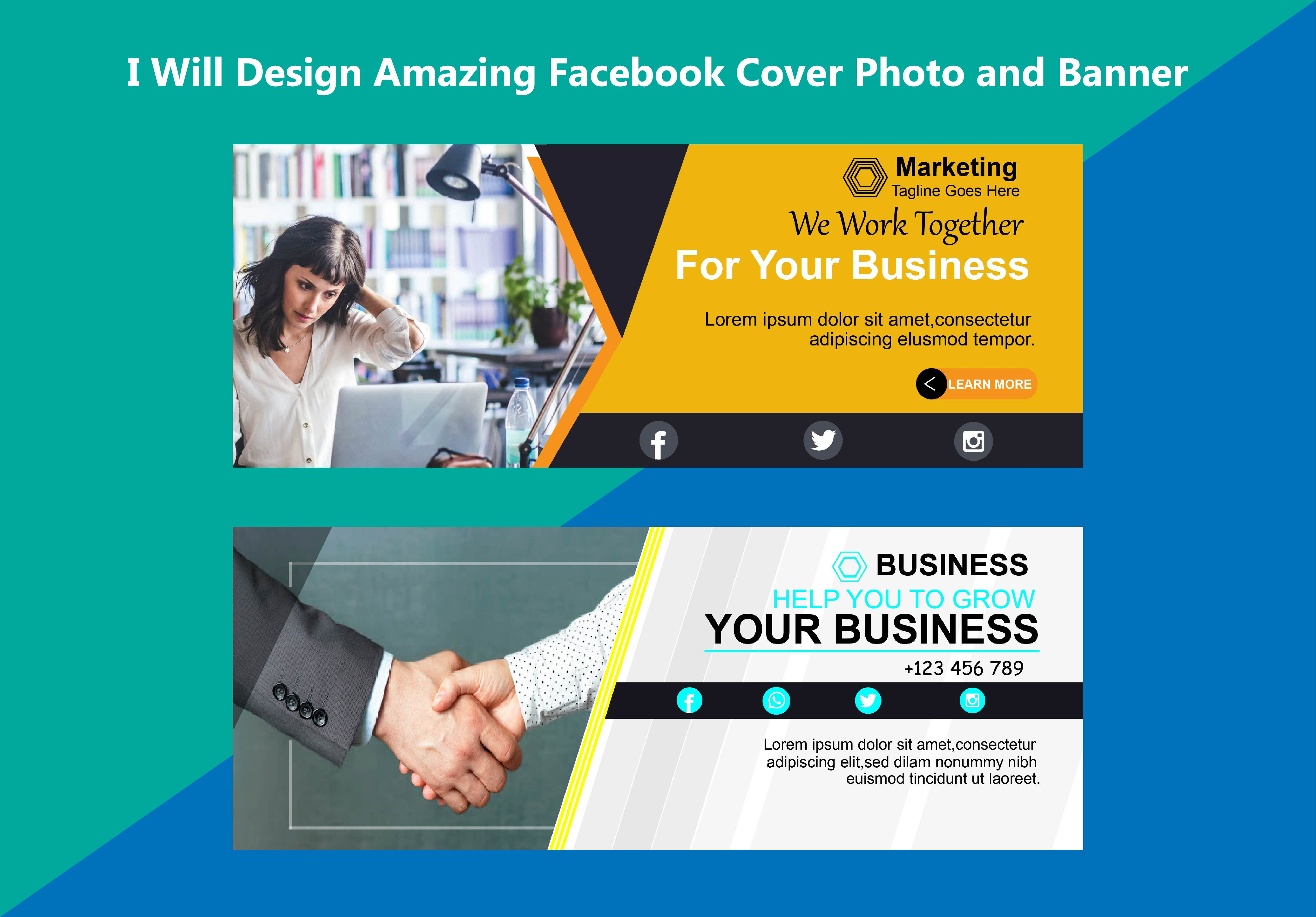 I Will Design Amazing Facebook Cover Photo And Banner