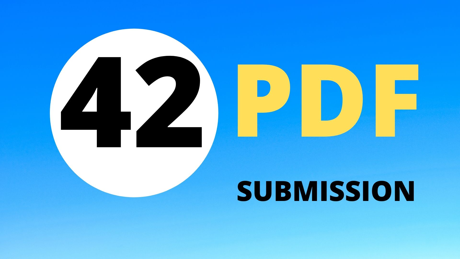 I will manually do pdf submission to top 42 doc sharing sites