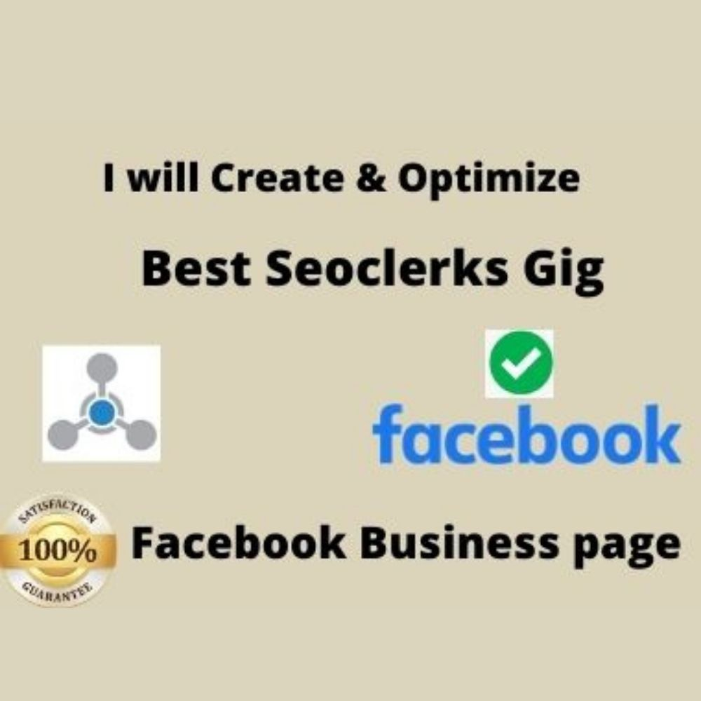 I will create Facebook business page or fun page