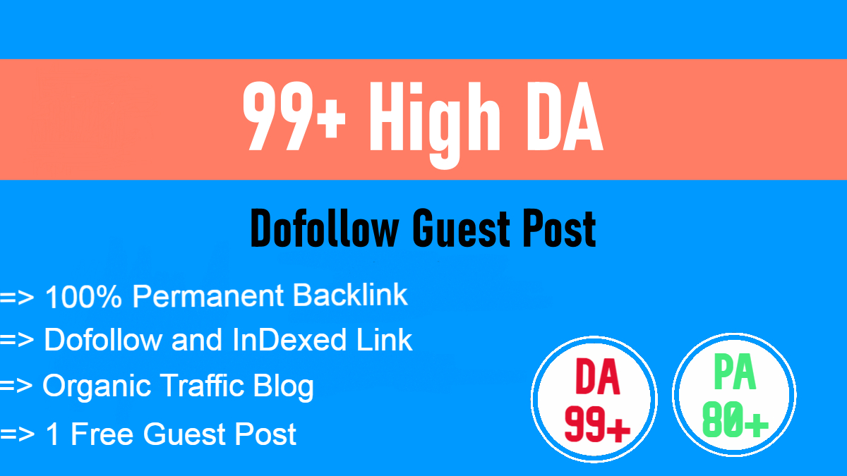 I will publish Niche based Guest Post on high authority sites