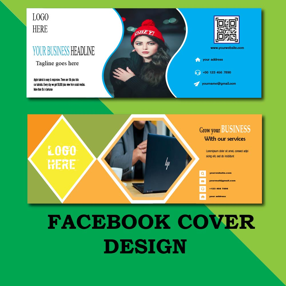 I will design attractive and amazing facebook cover photo