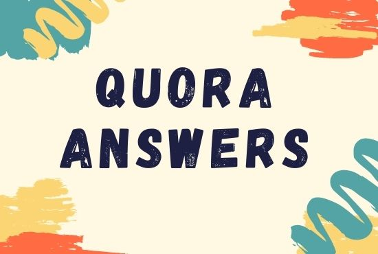 Promote your website 5 High Quality Quora Answer with your keyword and URL