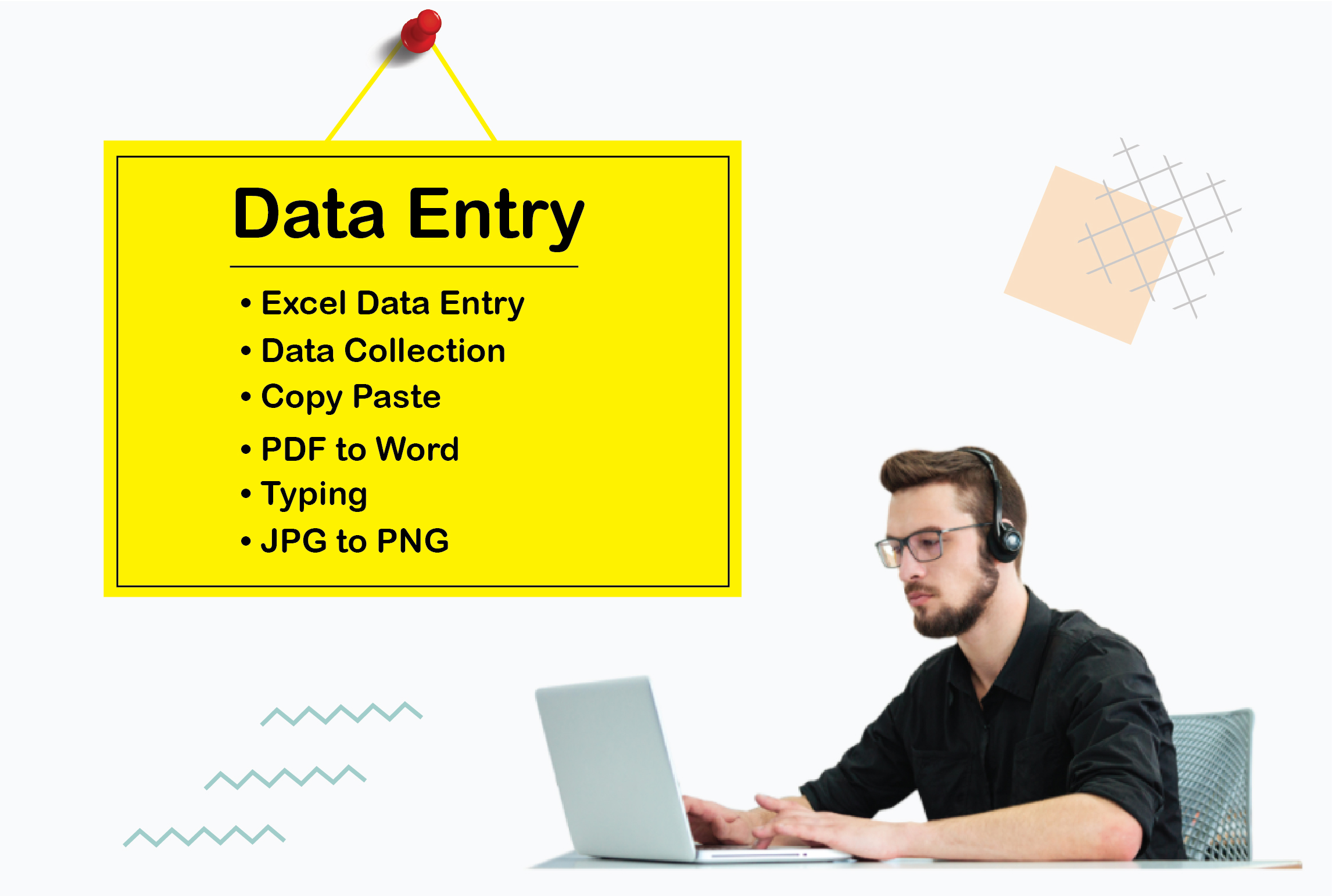 I will provide any type of data entry work and data analysis