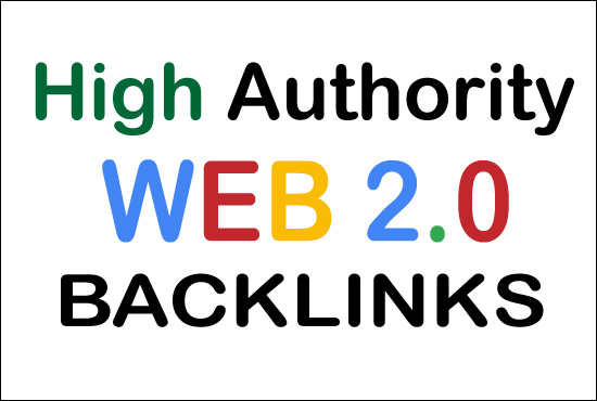 I will create manually 30 High Authority dofollow web 2.0 backlinks
