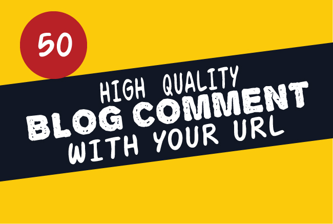 I Will Create Manually 50 Niche Relevant Blog Comments Backlinks On High DA