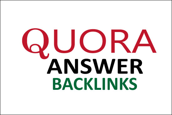 I Will Provide 3 High Quality Quora Answer Backlinks