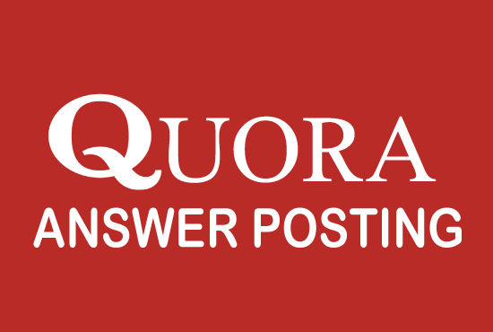 I will Create Niche Relevant 5 Quora Answer backlinks for targeted traffic