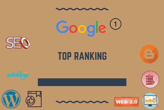I will optimize your website for top google ranking with SEO service