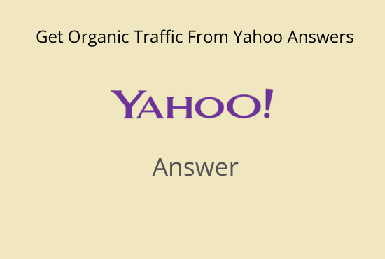Promote your website in 10 Yahoo Answers with Your Keyword & Url