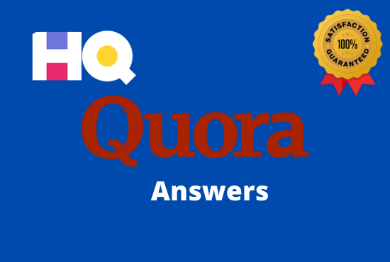Promote your website with 5 high quality Quora Answers for getting huge traffic