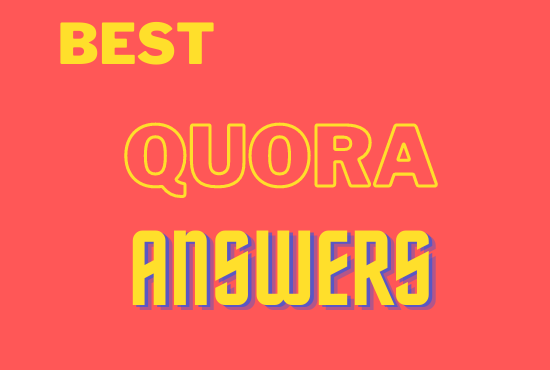 Provide Niche Relevant 5 Quora Answer for targeted 100 traffic