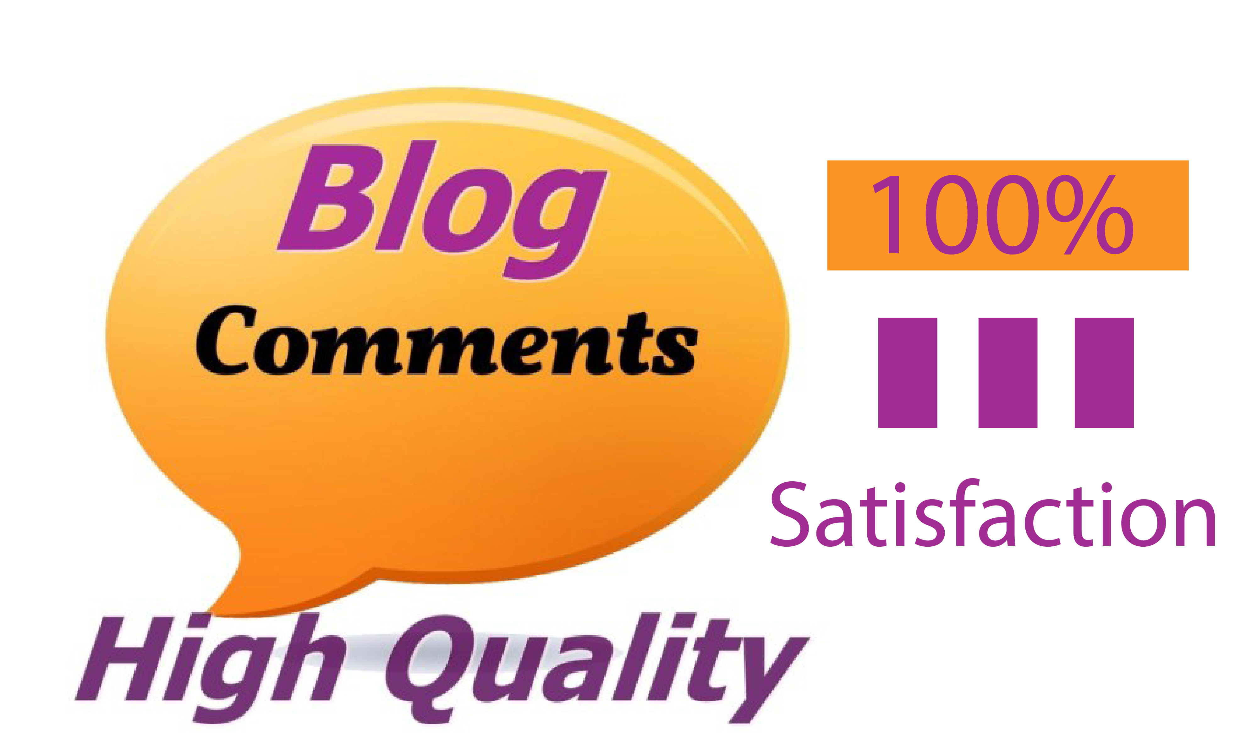 I Will do Manually Submitted 50 High Quality Blog Comments Backlinks