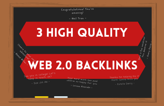 I will create 3 amazing Web 2 0 Blog Post with Backlinks